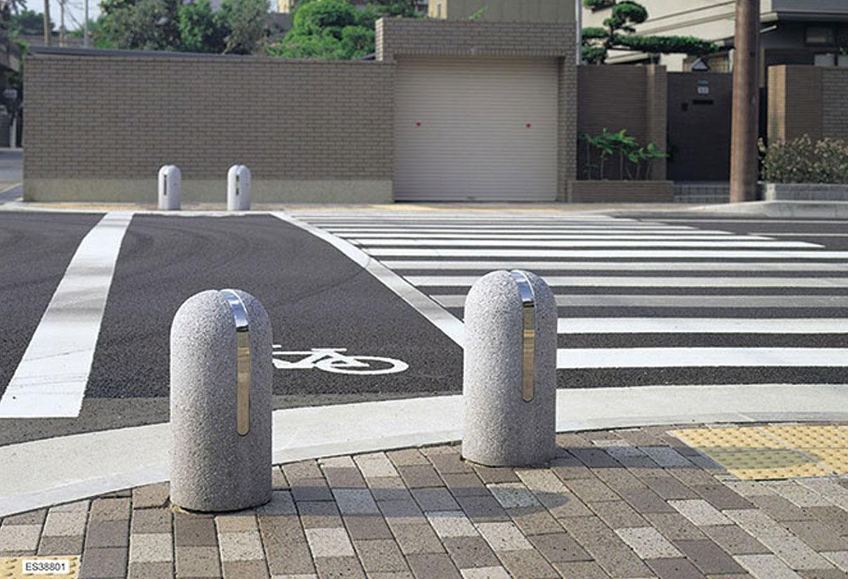 Car Stop Stone